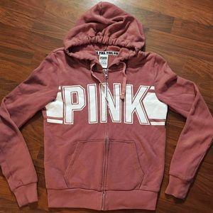 Full-zip hoodie by PINK (Victoria's Secret)